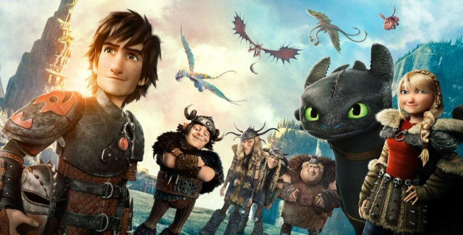 gambar kartun keren how to train your dragon