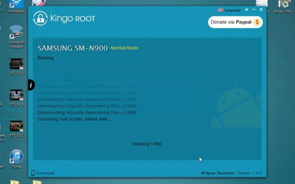 cara root android kingo root pc 2