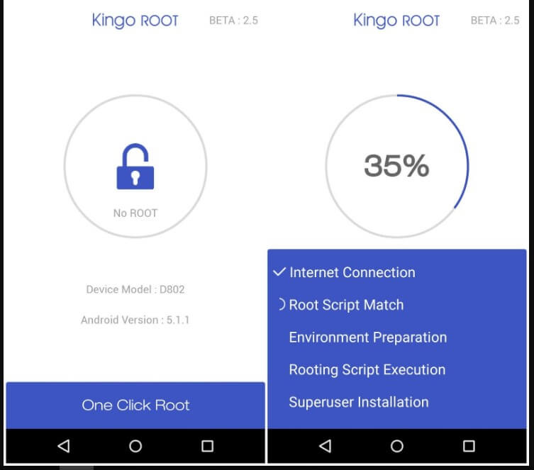 cara root android kingo root